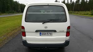 toyota hiace 2 5 d4d 90 4d pitkä long low 2005 used vehicle