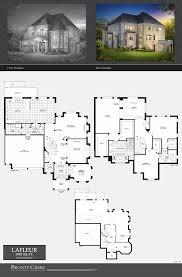 Ennis House Floor Plan by Melody Homes Brooklin Floor Plans