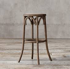 Restoration Hardware Bar Stool Wood Bar Counter Stools Rh