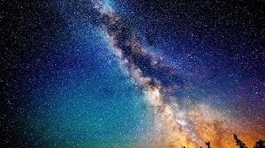 digital universe wallpapers digital art milky way blue space universe wallpaper space