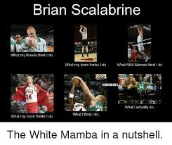 Brian Scalabrine Memes - brian scalabrine what my friends think l do what my team thinks i