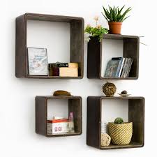 square wood wall decor picturesque design ideas square wall shelves amazing 15 square