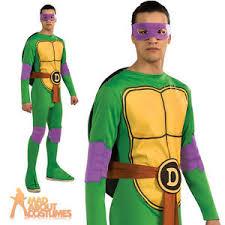 Robin Halloween Costume Men Teenage Mutant Ninja Turtles Donatello Costume Mens Fancy