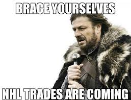 Hockey Meme Generator - brace yourself i swear to st pete if they trade any of my guys