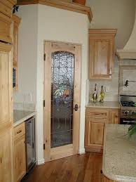 Kitchen Pantry Cabinets Kitchen Marvelous Kitchen Pantry Door Wood And Glass Doors