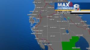Davenport Florida Map by Tropical Storm Emily Weakens To Depression Over Central Florida