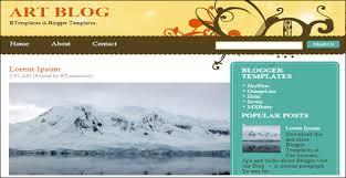top 15 artistic blog templates free u0026 premium templates