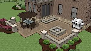 Backyard Paver Patio Ideas Patio Design Ideas With Pavers Landscaping Gardening Ideas