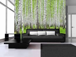 Birch Home Decor Birch Tree Wall Mural Home Design