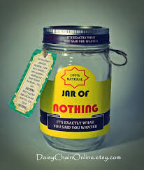 best gift a jar of nothing funny gift for boyfriend