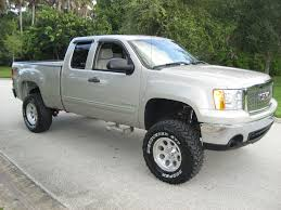 lifted gmc 1500 2007 gmc sierra 1500 sle extended cab z71 lifted