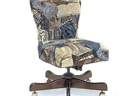 White Armless Office Chair Upholstered Computer Chair Faux Fur Upholstered Desk Chair