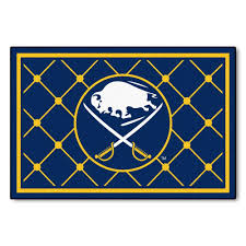 Nhl Area Rugs Fanmats Buffalo Sabres 5 Ft X 8 Ft Area Rug 10512 The Home Depot