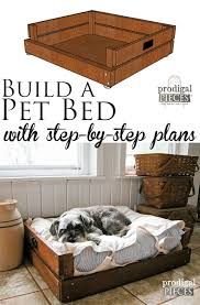 pet bed diy building plans u0026 tutorial pet beds building plans
