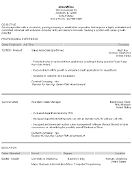 Resume Example Entry Level by Sample Entry Level Resume Jennywashere Com