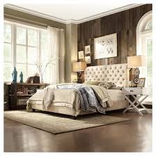 townsend button tufted headboard king inspire q target