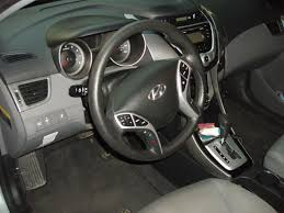 2012 Hyundai Elantra Interior Excellent 2012 Silver 4 Dr Sedan Automatic Cloth Interior Blue
