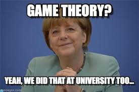 Meme Theory - game theory merkel bundespressekonferenz meme on memegen