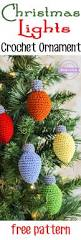 christmas lights crochet ornament 25 days of christmas