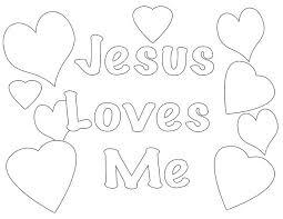 jesus loves coloring pages coloring print jesus loves
