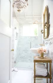 French Country Bathroom Designs Marble Subway Tile Wall French Country Cottage