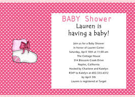 Gift Card Shower Invitation Wording Baby Shower Invitations Wording Samples Paperinvite