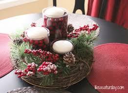 simple christmas table decorations christmas decor diy for tables gpfarmasi abd1230a02e6