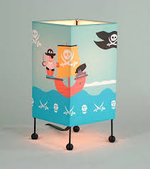 pirate table lamp small baby and kids lighting by all kids lamps