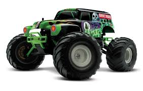 monster jam grave digger truck monster jam excitement now in 1 16 scale grave digger rc soup