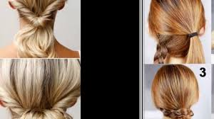 make easy hairstyles step by step youtube