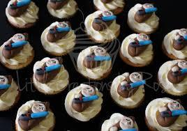 wars baby shower cake obi wan kenobi wars baby fondant cupcake toppers created
