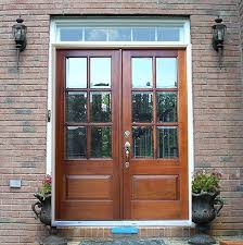 Traditional Exterior Doors Outside Doors With Glass Exterior Glass Front Doors Stained Glass