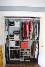 bedroom hanging rods shelves and drawers u shaped closet system
