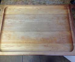 rehab a leaky cutting board with beeswax 5 steps