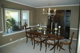 traditional dining room with carpet u0026 chair rail in mequon wi