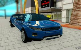 range rover dark blue land rover for gta san andreas