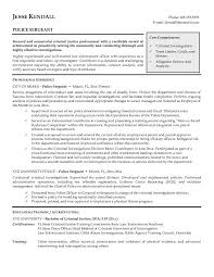 police resume templates word resume templates 2017