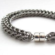 bracelet stainless steel images Men 39 s chainmail bracelet stainless steel full persian stainless jpg