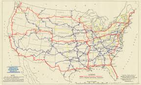 map us hwy a map of the proposed u s highway network