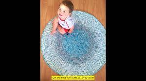 Crochet Oval Rag Rug Pattern Rag Rugs Crochet Crochet Rug Patterns Crochet Rugs From Fabric