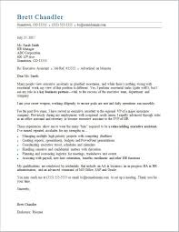 executive assistant cover letter executive assistant cover letter sle