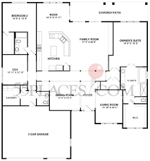 Del Webb Floor Plans by Ashcroft Floorplan 2833 Sq Ft Sun City Huntley 55places Com