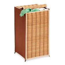 Laundry Hamper Double by Furniture Using Nice Wicker Laundry Hamper For Contemporary Home