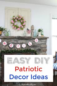 4th of july decorations diy flag ideas and more dagmar u0027s home
