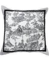 Black And White Toile Duvet Cover Boom Sales U0026 Deals On Black Toile Bedding