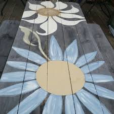 Design For Wooden Picnic Table by 125 Best Picnic Tables Images On Pinterest Painted Picnic Tables