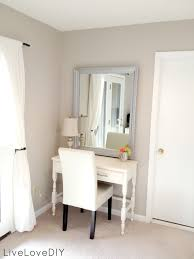 Small Vanity Table For Bedroom Dressing Table Ekby Wall Shelf From Ikea With Ghost Chair To Match