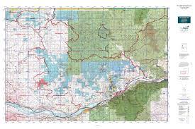 Washington State Topographic Map by Wa Gmu 568 Washougal Map Mytopo