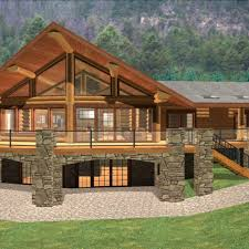 cabin style home log cabin home plans with basement log cabin style house single