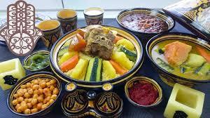 cuisine marocaine couscous couscous marocain à l agneau et légumes